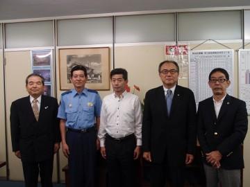 表敬訪問 江南警察署