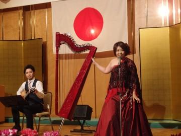 アルパ奏者 奥村陽子さんを迎えて