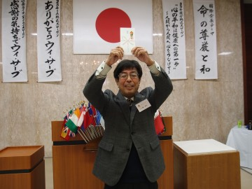 L小塚 善弘 長男「文敏」さん、ご結婚おめでとうございます!