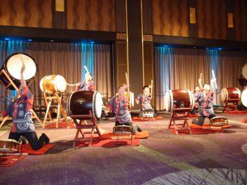 式典アトラクション 愛知県立松蔭高等学校 和太鼓部 和太鼓演奏