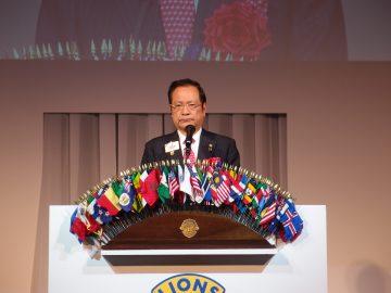 国際会長挨拶 / 記念講演