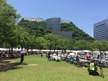 ライオンズマーケット in 天神中央公園